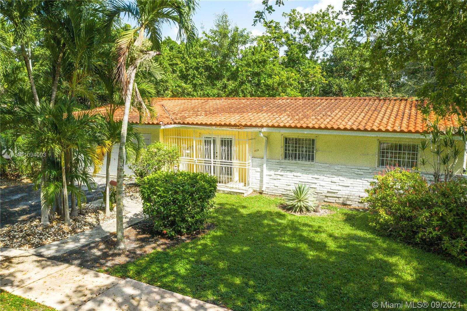 """Excellent opportunity to live in dynamic Coral Gables, """"The City Beautiful."""" A spacious family home, located near the University of Miami, with an exceptional floor plan. This 1 story, 3 Bedroom 2 Bath home has a total area over 2,984 Sq. Ft., with room for spacious kitchen, living room, Xlarge primary bedroom, and large two-car garage.  Priced to allow for TLC and to create a home to your tastes. Good for a family or investor…do not wait, it will not last.  Architect renderings are also included in the sale of the home.. Call listing agent for access."""