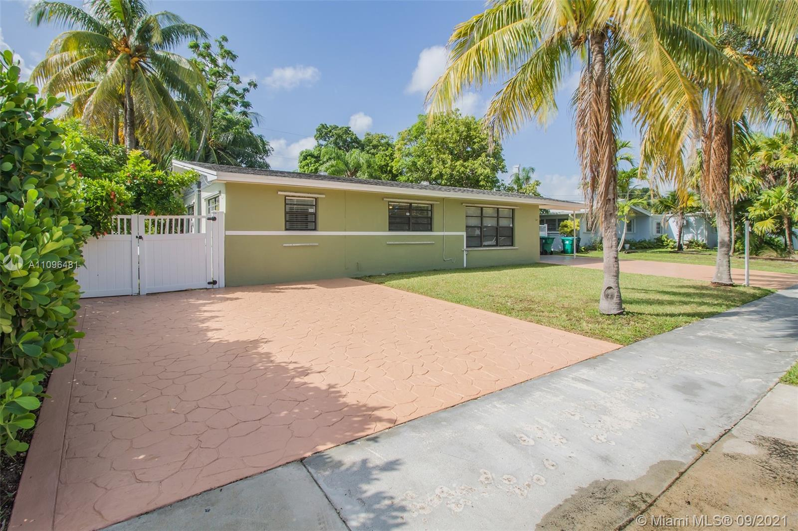 Just listed! Charming 4 bedroom 2 bathroom single family home for sale in Cutler Bay. Home features a split floor plan with an upgraded kitchen & bathrooms. Great outdoor entertaining space with a large screened in pool surrounded by exotic fruit trees. Home is fully fenced with 2 large paved driveways with plenty of space for parking. Easy to Show!