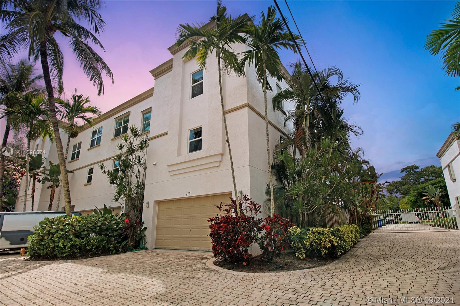 Rarely available spacious 2/2.5 townhome in highly sought after Tarpon River! This beautiful corner unit has it all including a 2 car garage! Ground level features 1 bedroom with ensuite bath, large walk in closet, & private tranquil patio area! Second floor is perfect for entertaining with open kitchen, and huge family & dining room combination. Washer & dryer is conveniently located off kitchen and NOT in the garage like many other homes in this area! Third floor is exclusive to the master bedroom & bath, with its own private roof top balcony over looking the city! Home features all new impact windows installed in 2019, brand new 2021 water heater, newer 2016 AC, & 2019 GE stainless steel profile appliances. Community is gated & features an exclusive pool area shared by only 12 homes!
