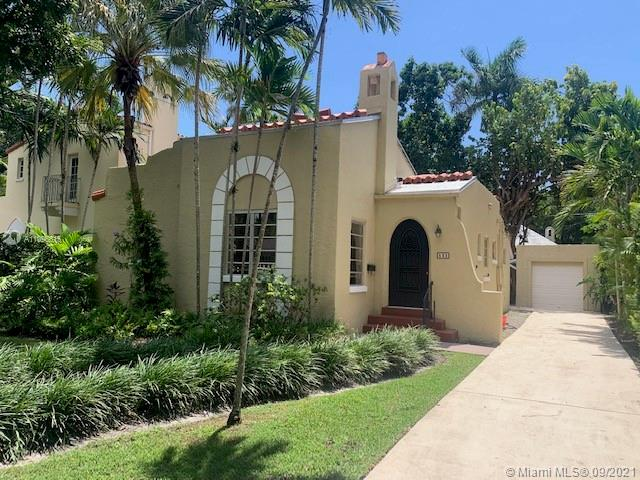 This original 1926 old Spanish Mission styled home which is perfectly located in a very desirable area of Coral Gables. The property is a 2 bedroom and 1.5 bathrooms with hard wood floors through out most of the house. The garage was also converted into an extra room with its own bath room. This delightful home has a lot of original details such as original front wooden door, fireplace, and high ceiling with wood beams in the living area. This gem is centrally located and close to plenty of great schools, shops and night life. The house is perfect for the buyer who is looking to update to their own taste and preference.!