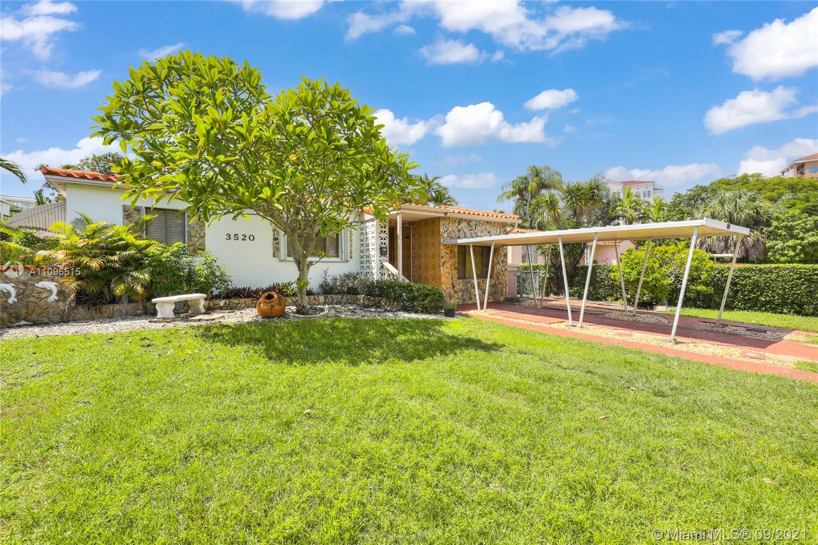 3520 SW 20th St  For Sale A11096515, FL