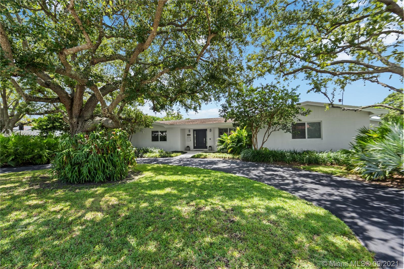 This beautiful 4 be/3 ba home in North Palmetto Bay has been fully remodeled in 2016. The 3,159 SF home comes with spacious living & dining areas, an office, a separate family room as well as a remodeled kitchen and bathrooms. Additional upgrades include wood-like ceramic floors, a separate laundry room, multi-slide living room doors that open up into the garden, all new impacts windows & doors, new Bedroom A/Cs ('18), new A/C Ducts, new PVC sewer lines and a Security system NVR with 5 cameras.  The 15.128 SF tropically landscaped lot offers a pool (remodeled in 2018 w/ new pipes & heating system), a covered terrace, landscape lights, a new wood fence ('18) as well as a 2-car garage and septic tank.