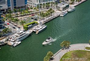 Gorgeous water view and spacious 1 bedroom plus 1 bath apartment located on the 37th floor of Icon Brickell with beautiful finishes and ready to move in or rent (short and long term).  Unit has title floor, top of the line Wolf and SubZero , wood cabinets and limestone countertop in the bath and kitchen. Washer and dryer inside the unit. Luxury amenities with 5 star pool, spa services, water lounge, gym, sauna, move theater, coffee, beverage and towel services in the pool, game room, 24 hr concierge, valet parking and walking distance to City Centre mall.