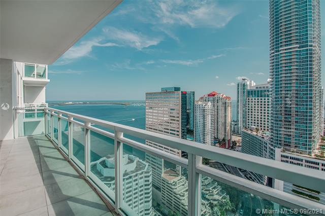 Live limitlessly in this delightful 34th floor unit at The Plaza overlooking Biscayne Bay. This classic 2 bedroom layout is perfect for first-time buyers looking for an affordable spot in the heart of Brickell. The fully renovated white kitchen with new SS appliances offers an open concept living which is perfect for entertaining guests. Each bedroom has an on-suite bathroom that has been tastefully renovated as well. The South-facing balcony gives you the best of both worlds: breathtaking water views and the dazzling lights of Brickell City Living. Plus, you're just an elevator ride away from all the action: get your exercise in by the bay just across the street or visit one of the hundreds of restaurants within walking distance to Brickell & Downtown.