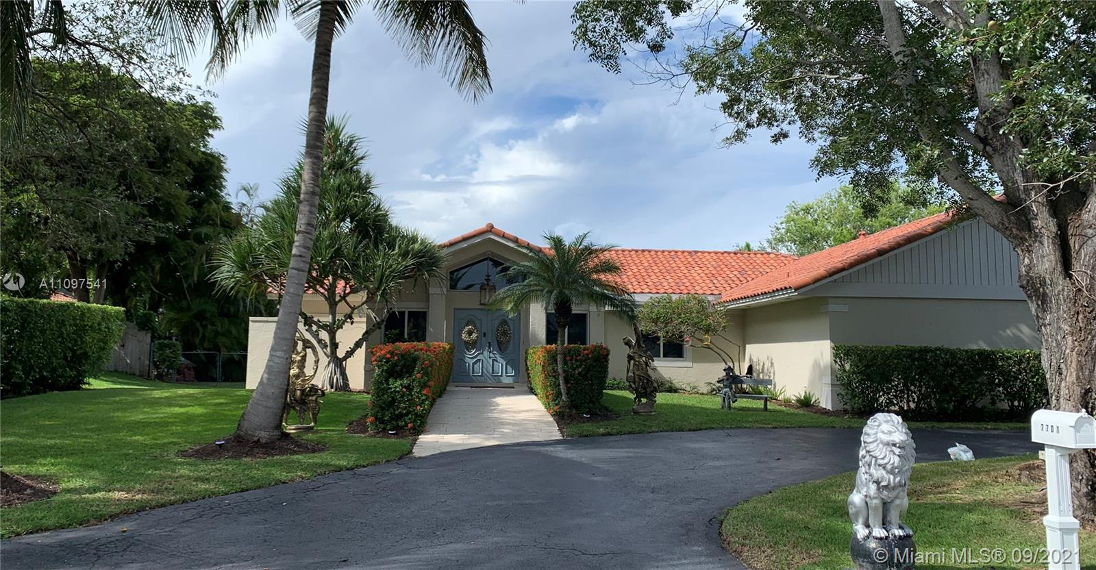 Immaculate corner home in the prestigious Cape Cutler estates of the Village of Palmetto Bay, Top of the line appliances, enormous pantry, open concept, 4 bedrooms plus den, 2 full bathrooms plus guest bathroom, impact windows, heated salt water pool, two a/c that keep this beautiful home at perfect temperatures, best Miami Dade school district, plus exceptional private schools in the area.  Lots of art work that buyer can purchase separate if desire. By appointment only with 24 hours notice. Showings will start Thursday, Sept 16 afternoon.