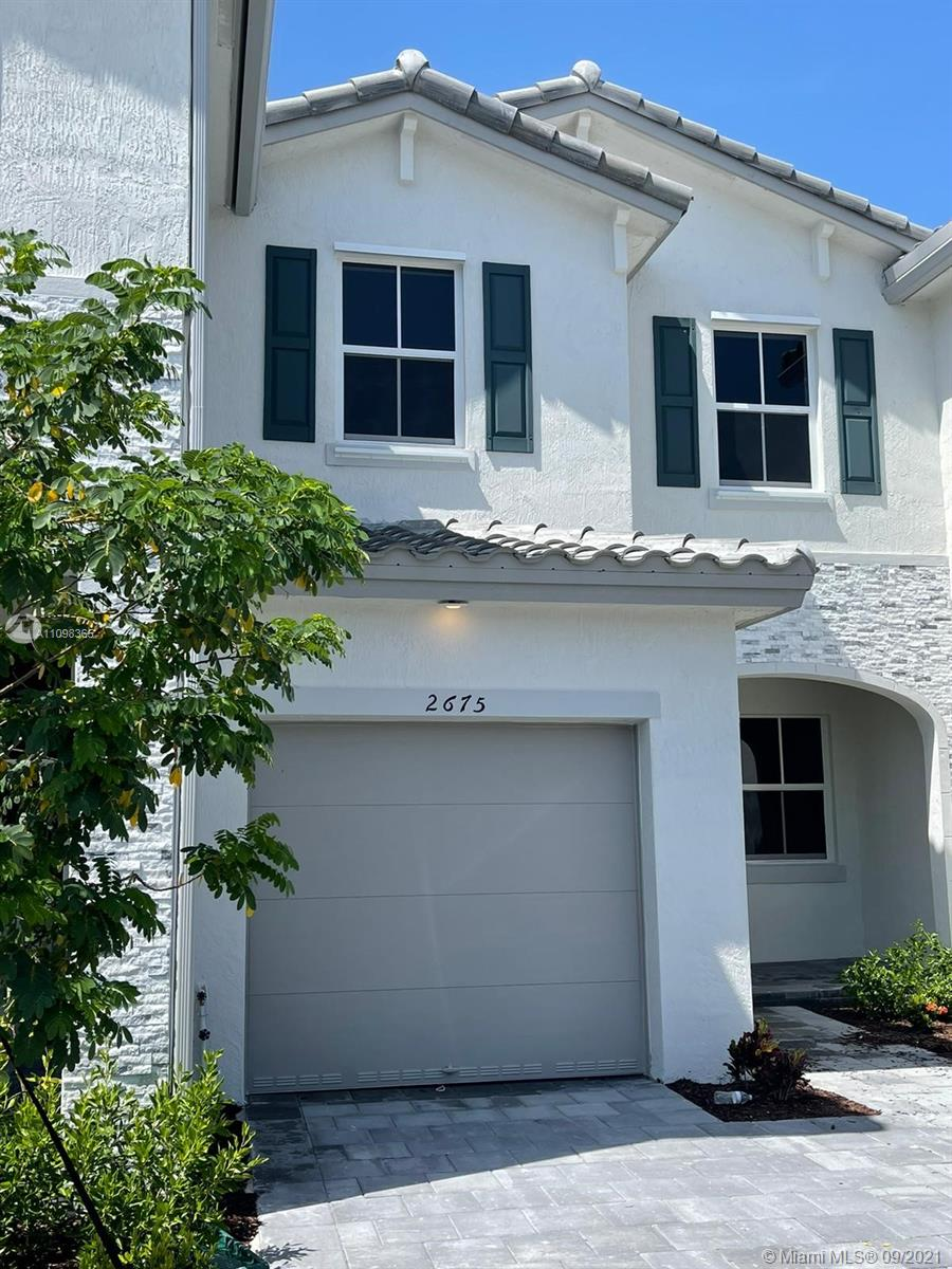 Brand new townhome never lived in. Ready to be occupied. Gated patio. Utilities not included in rental price. All appliances under warranty for one year. Covered parking. Easy to show!
