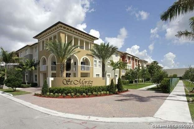 Great apartment at the Moritz Condos at Doral Spacious 3 Bed / 2.5 Bath condo in St. Moritz. Tile on 1st floor throughout with excellent floor plan. Open kitchen with granite countertops, Washer & Dryer in the unit. The condo will be delivered in impeccable conditions. Community pool and Islands at Doral Country Club. Great location.  Please submit an offer along with W2, full credit report, Copy of Dl, Police report, last 3 month paystubs, Proof of income. Please request a showing. NOW VACANT