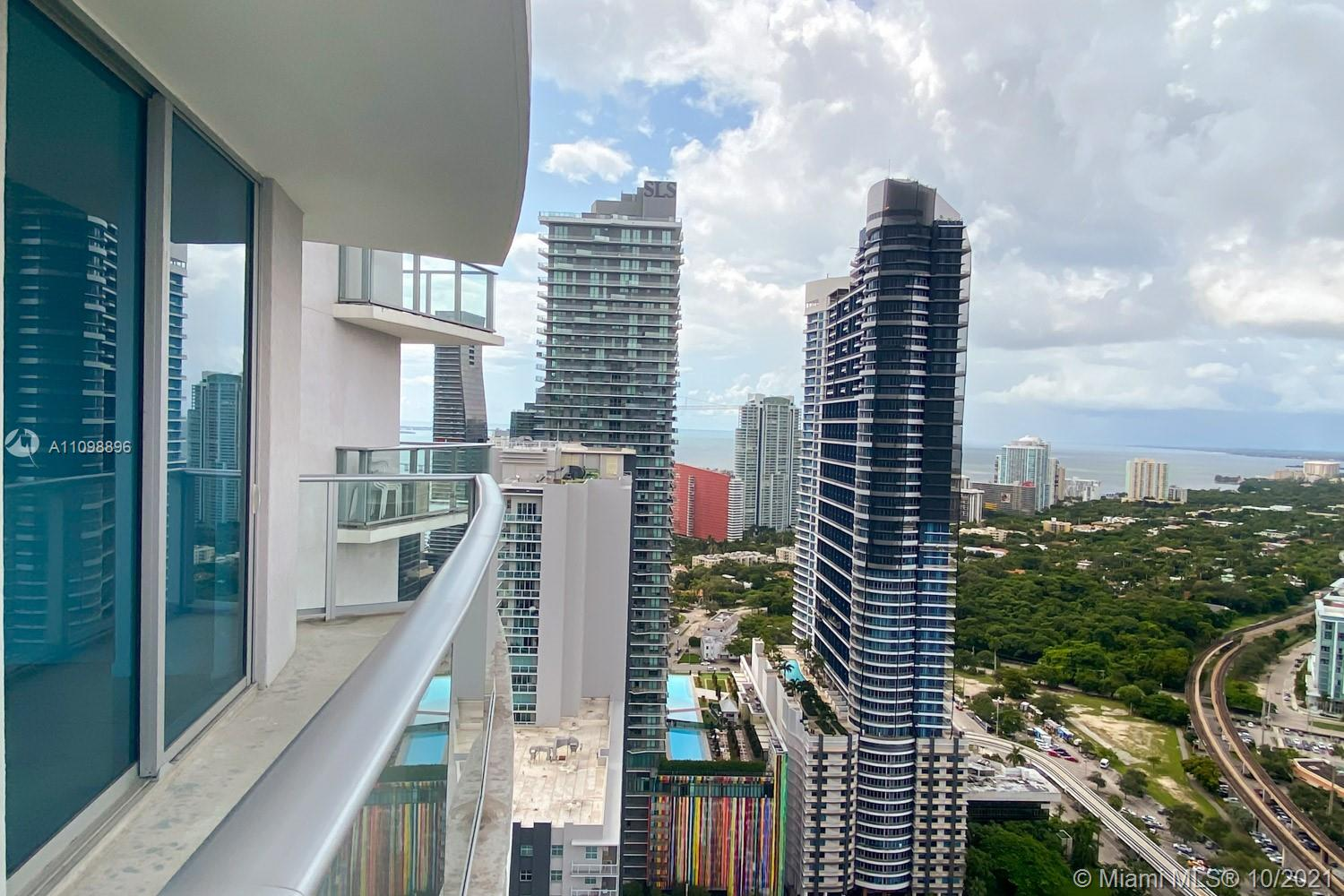 """GREAT OPPORTUNITY TO OWN A STODIO UNIT AT THE LUXURY CONDO """"MILLECENTO"""" LOCATED IN THE CENTER OF BRICKELL. THIS BEAUTIFUL STUDIO HAS AN AMAZING CITY AND BAY VIEWS. BEAUTIFUL OPEN KITCHEN WITH QUARTZ COUNTERTOPS AND ITALIAN CABINETRY WITH PRIME APPLIANCES. OFFERING 5 STARS AMENITIES; ROOFTOP POOL ON THE 43rd FLOOR AND LOWER LEVEL POOL, LOUNGE ROOM, KIDS ROOM, MOVIE THEATER, FITNESS CENTER, SOCIAL & BUSINESS CENTER AND CHILDREN'S PLAY ROOM. BUILDING HAS 24 HOUR CONCIERGE, SECURITY AND VALET PARKING. JUST STEPS AWAY FROM MARY BRICKELL VILLAGE AND BRICKEL CITY CENTER."""