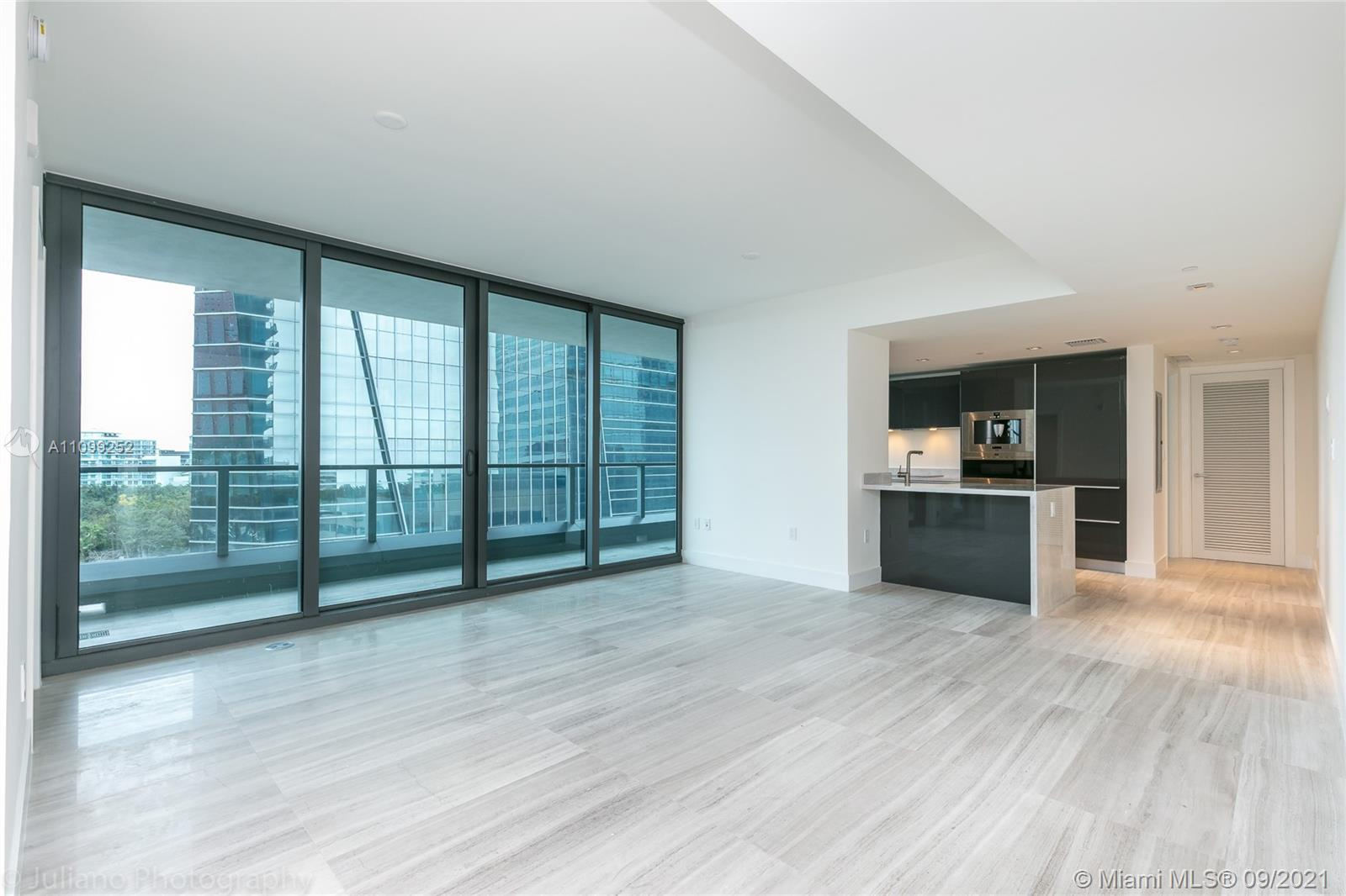 (SHOWING STARTS SEPTEMBER 23rd) TOTAL AREA 1,355 SqFt as per developer BEST PRICE IN THE BUILDING The most amazing and luxurious building on BRICKELL!!! This high rise offers the most exclusive services for the residents. The condominium offers  dog walker, elevator garage with car delivery, in house exclusive residents restaurant, in house bar exclusive for residents, gym trainer and much more. This is also an smart building, with means that everything on the unit and on the building can be control thru your cell phone or tablet from anywhere at any time.