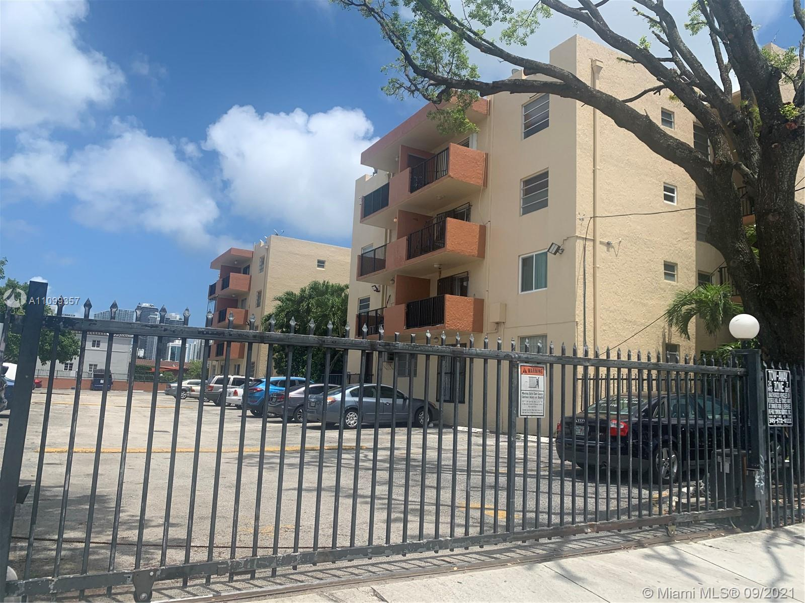 Location , Location, close to Trendiest Calle 8 ,Brickell. Gated building with cameras in parking lot. clean and quiet. Unit totally remodeled with new kitchen cabinet.wide space in walking closet and comfortable vanity in the vestier area. Laundry facility in the first floor. Future tenant will fall in love. Association approval in three weeks. Unit will be ready to move in on October 15th.Appoitments to  show only Wednesday and Saturday. Tenant has to submit proof of income, score of credit report and last landlord references.
