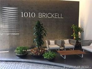 Spectacular unit at iconic 1010 Brickell Condo. Unit features 2 beds, 3 full baths + den, glass enclosure showers', custom made closets, 9 foot ceiling heights, top of the line appliances, 1 parking space. Live & play in this luxury building with an outdoor movie theatre, restaurant & swimming pool  at 50th floor roof top, hammam spa w cold and hot Jacuzzi, massage & treatments rooms, sauna & steam room at 12th floor, basketball and racquetball courts, running track, indoor heating swimming pools, fitness center, party room w kitchen, open terrace & BBQ, kids room w bowling, virtual golf simulator, among others. Excellent location next to public transportation, Brickell City Centre & more. Tenant occupied until beginning of December, furnished unit.
