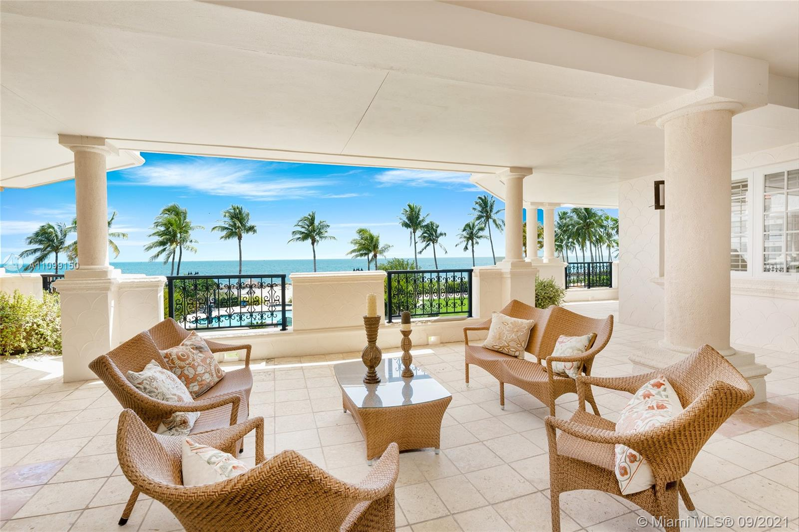 This 2nd floor Oceanside center-stack unit boasts an expansive wraparound terrace w/comfortable seating areas & direct private unobstructed Atlantic Ocean,  beach & Government Cut views. The 4,590 SF unit features fine marble floors, Venetian plaster walls, an open living & dining room layout w/a wet bar & a large family room to relax and entertain all w/terrace access & amazing ocean views. The open chef's kitchen sports custom Allmilmö cabinetry, top-of-the-line Miele, Sub-Zero & Thermador appliances & a breakfast area. A large Oceanside principal suite offers ocean views & a principal bathroom w/dual walk-in closets, glass steam shower & sunken spa tub. The other 2 bedrooms each w/walk-in closets, en-suite baths & access to a private front terrace. Unit sold partially furnished.