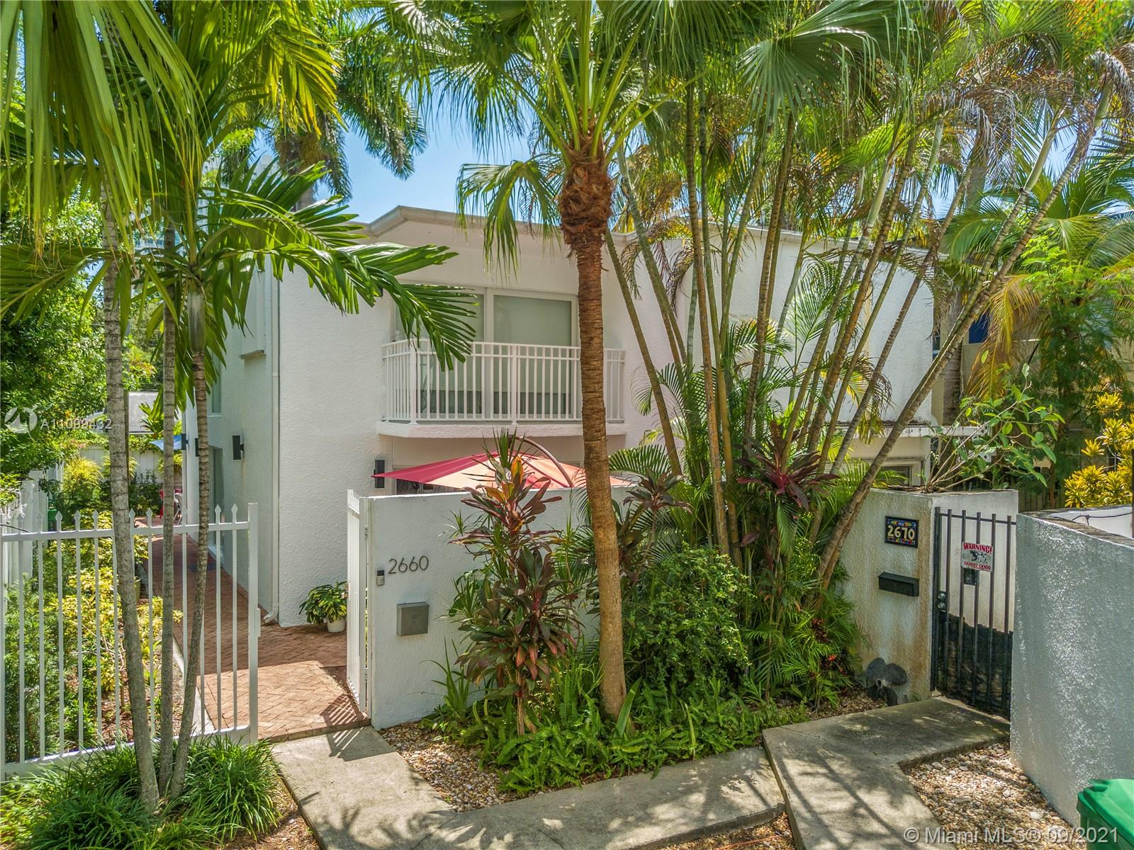 2660  Bird Ave #7 For Sale A11099432, FL