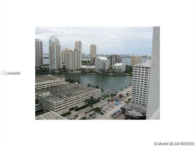 Beautiful 1 Bedroom, 1  Bath on 23 floor high-rise on Brickell Bay Drive with city views. Stainless steel appliances. Laminate floors. Valet parking available. Short Distance to restaurants, Mary Brickell Village and Brickell City Center.