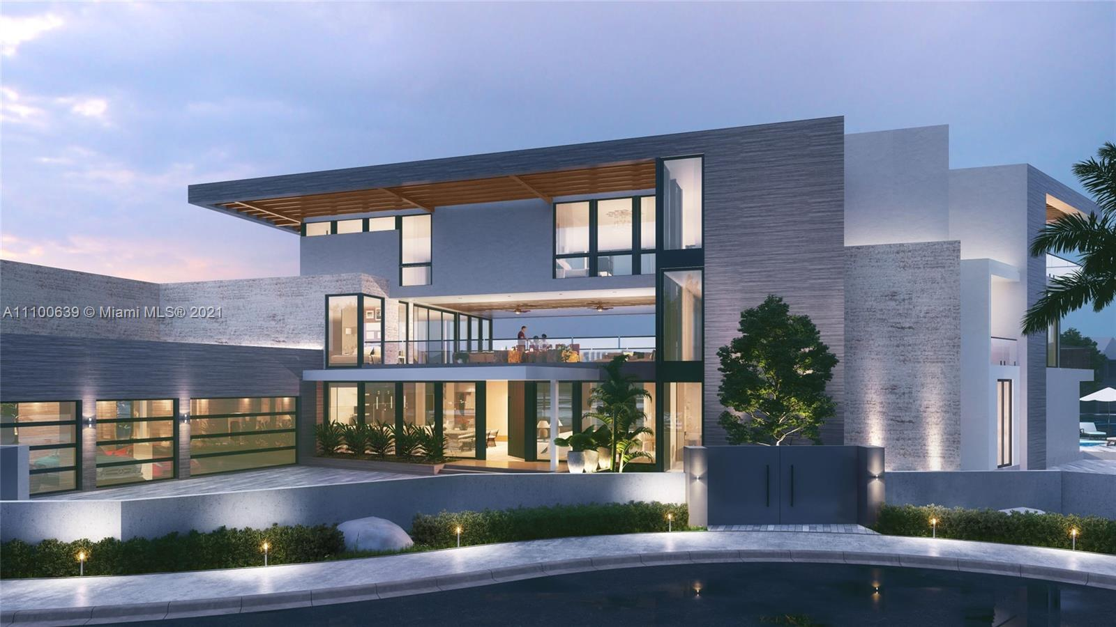 One of the best homes built in Fort Lauderdale. Designed by Affiniti Architects with 185' of waterfrontage one house in from the point, in sought after Seven Isles. Custom 3-story Modern Masterpiece with intracoastal views. Over 10,000 sq ft 6 Bedrooms 7 Full Baths and 2 Half Baths, Office, Clubroom, Gym, 4 car garage, and much more.