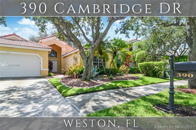 390 Cambridge Dr, Weston, Florida 33326