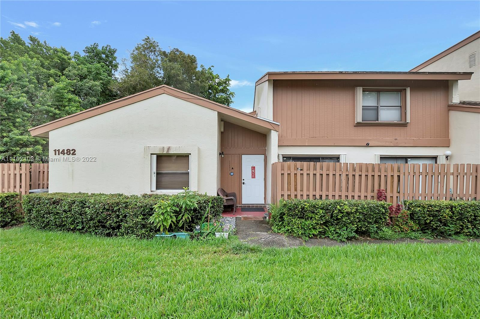 11482 SW 109th Rd #29A For Sale A11102103, FL