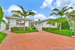 Amazing Home walking distance to the Beach and Normandy Shores Golf Course.This House features 6/3, also the House has a Brand new Roof done on 2020, New 5 tons AC Installed 2021, New Solar Panels Installed 2021 that saves over 70% on FPL monthly Bill, Recently Caulk and painted the exterior, New rain Gutters installed, Redone all landscaping, House is ready move conditions. Close to Supermarkets, Banks, Stores, Beach, Schools, easy public transportation.