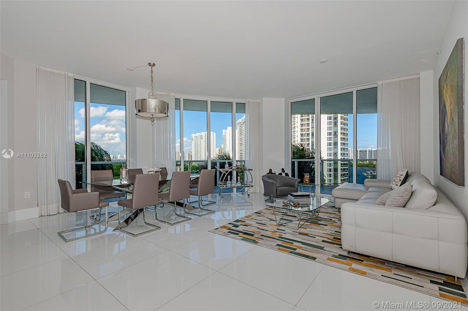 SPECTACULAR RESIDENCE WITH AMAZING VIEWS OF OCEAN, CITY AND INTRACOASTAL. SPACIOUS 3 BED & 3.5 BATHS. PRIVATE ELEVATOR. ELEGANT LIFESTYLE IN PRESTIGIOUS WILLIAMS ISLAND WITH FULL AMENITIES, 3 RESTAURANTS, STATE OF THE ART SPA, MARINA, WALK/JOG PATH, KIDS PLAYGROUND, COURTESY BUS, TENNIS COURTS, WALK TO HOUSES OF WORSHIP AND SO MUCH MORE.