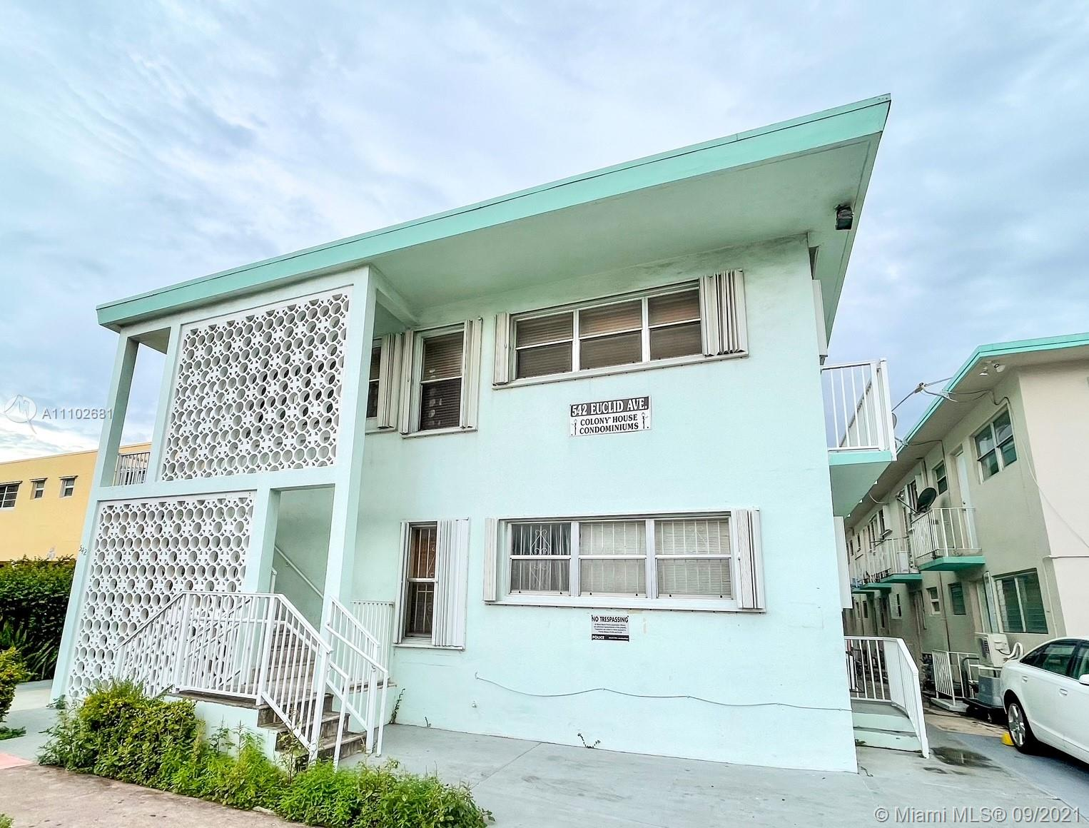542  Euclid Ave #3 For Sale A11102681, FL