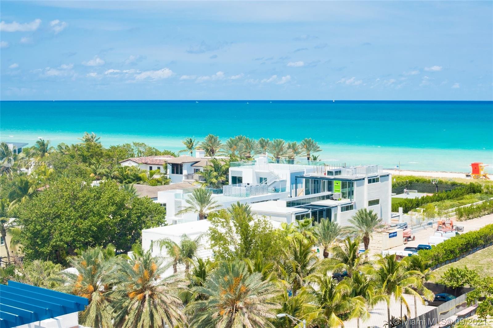 7600  Collins Ave #1007 For Sale A11103415, FL