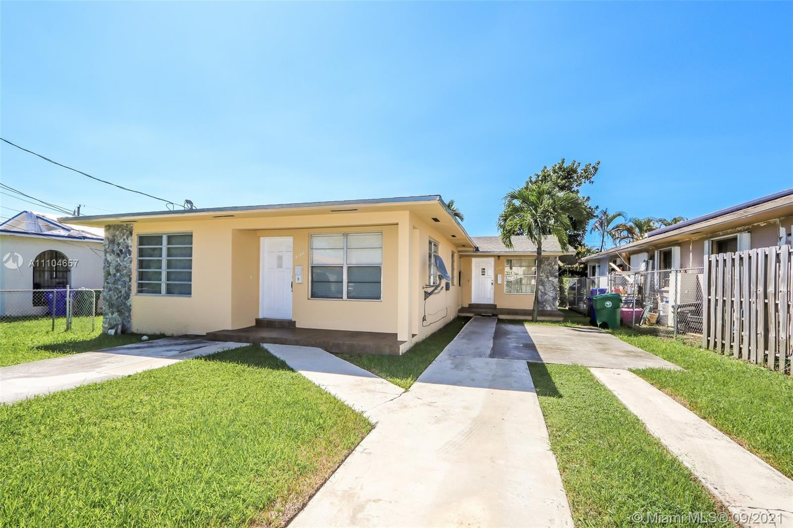 3156 SW 27th St  For Sale A11104657, FL