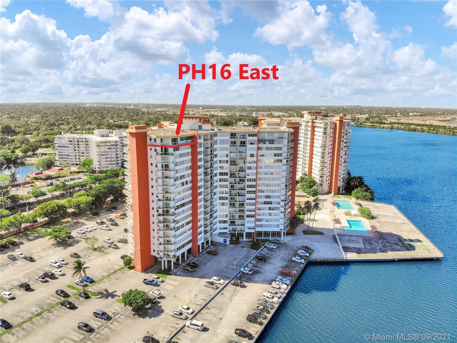 1351 NE Miami Gardens Dr #PH16E For Sale A11104711, FL