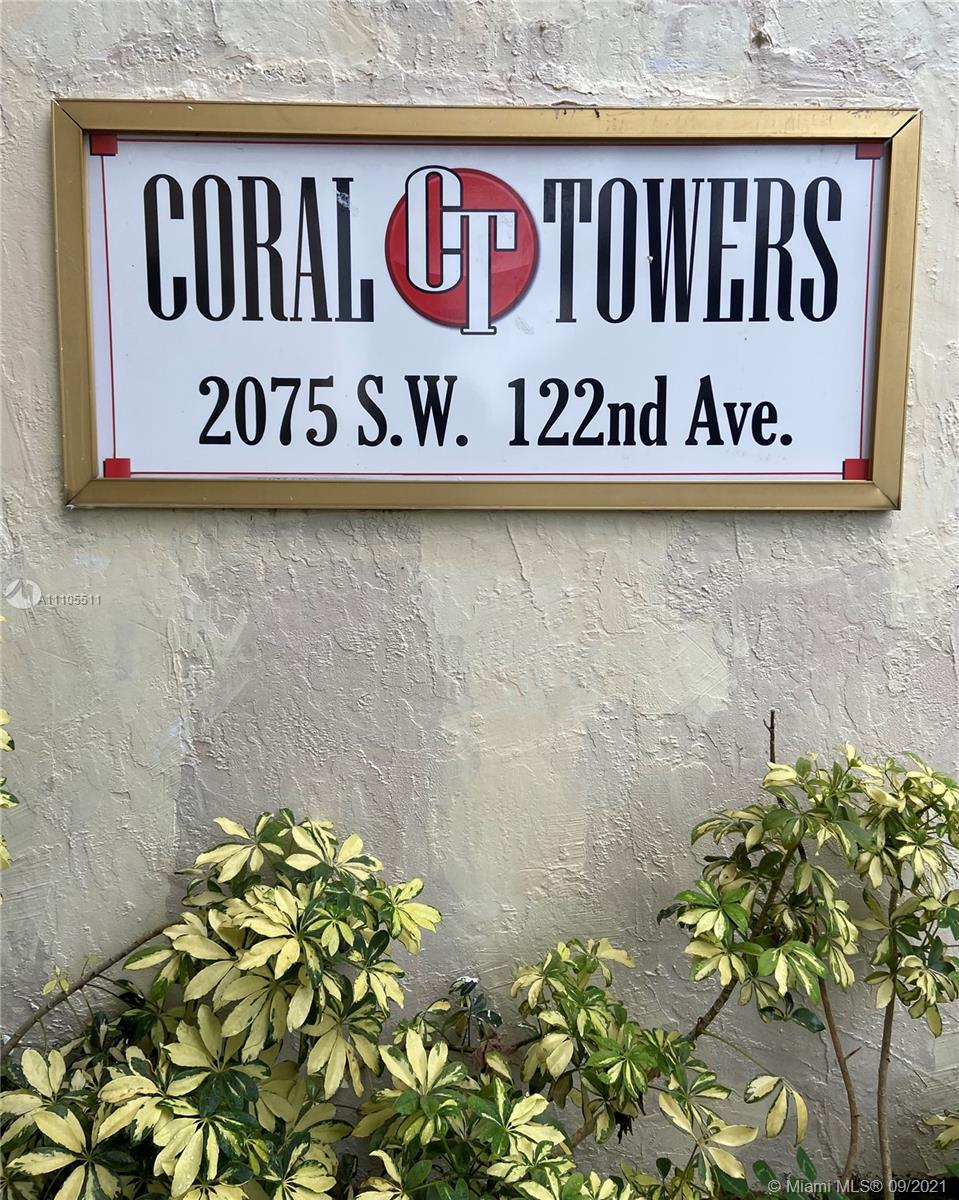 2075 SW 122nd Ave #530 For Sale A11105511, FL