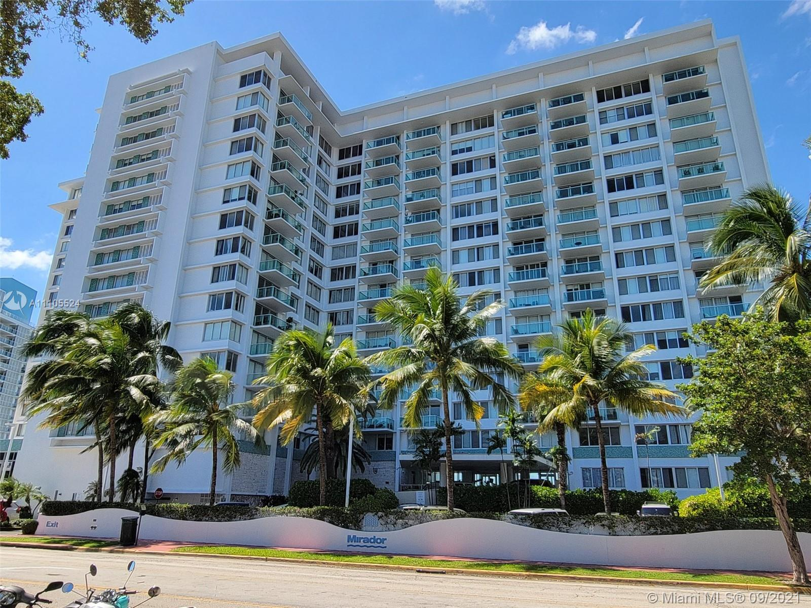 1000  West Ave #PH31 For Sale A11105524, FL