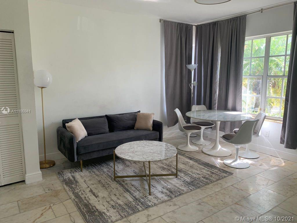 """PART OF THE FIRST BOUTIQUE RESIDENCE LUXURY COLLECTION """"FIRST ON PENN"""" IS LOCATED AT WALKING DISTANCE FROM LINCOLN ROAD AND THE BEACH. AWESOMELY REMODELED CORNER FRONT 1bed/1bath IN THE HEART OF SOBE: UNIT FEATURES BEAUTIFUL HIGH END FINISHES W/ MARBLE FLOORING AND BATHROOM, MODERN FURNITURE, CENTRAL A/C, LARGE WINDOWS, LOT OF NATURAL LIGHT."""