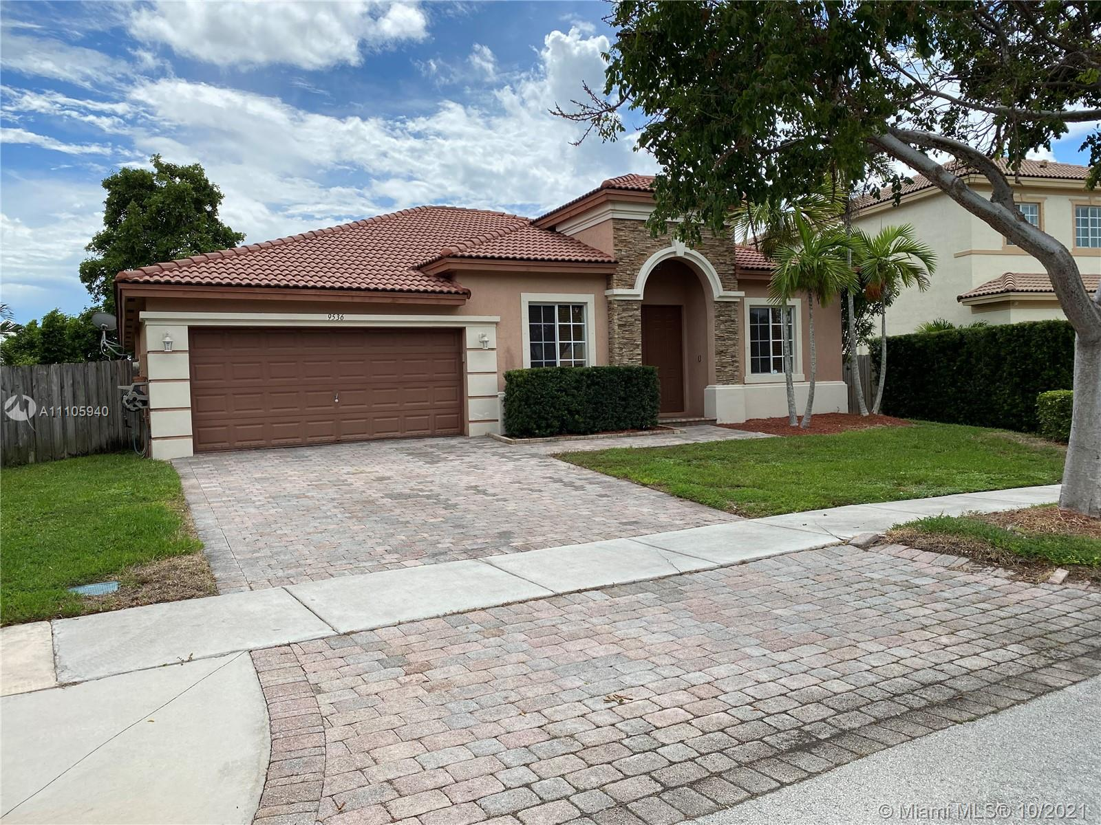 9536 SW 222nd Ln  For Sale A11105940, FL