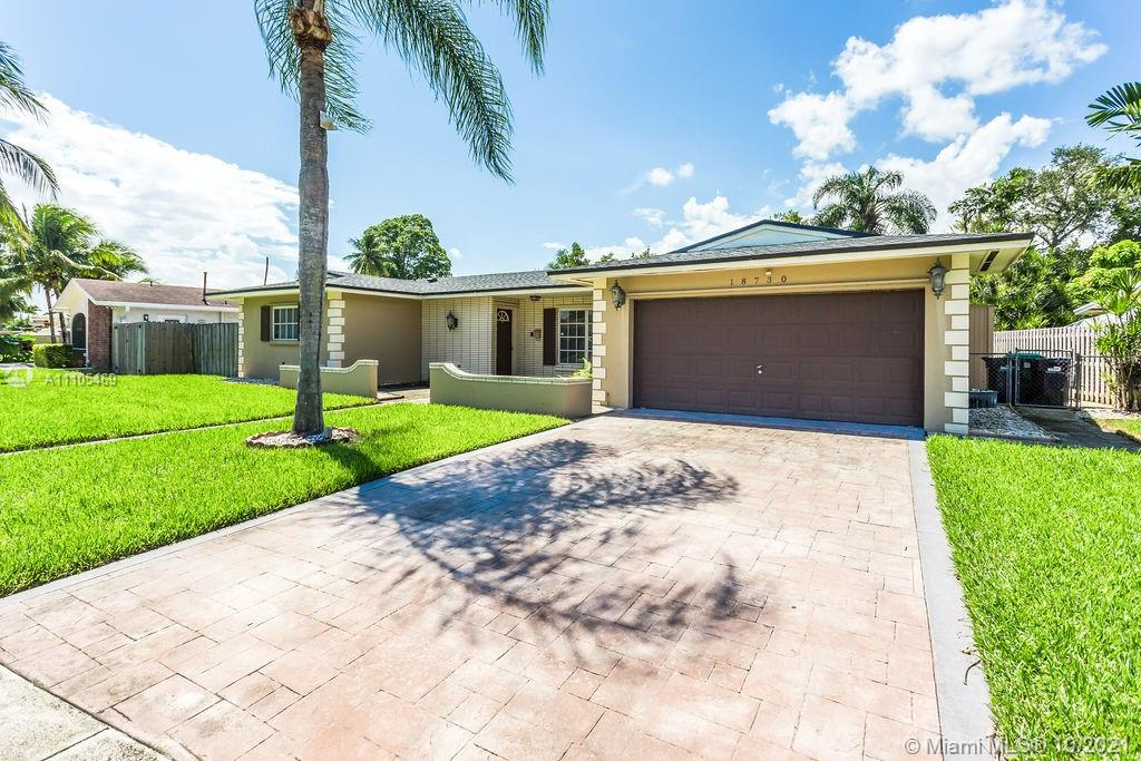 18730 SW 92nd Ave  For Sale A11105469, FL