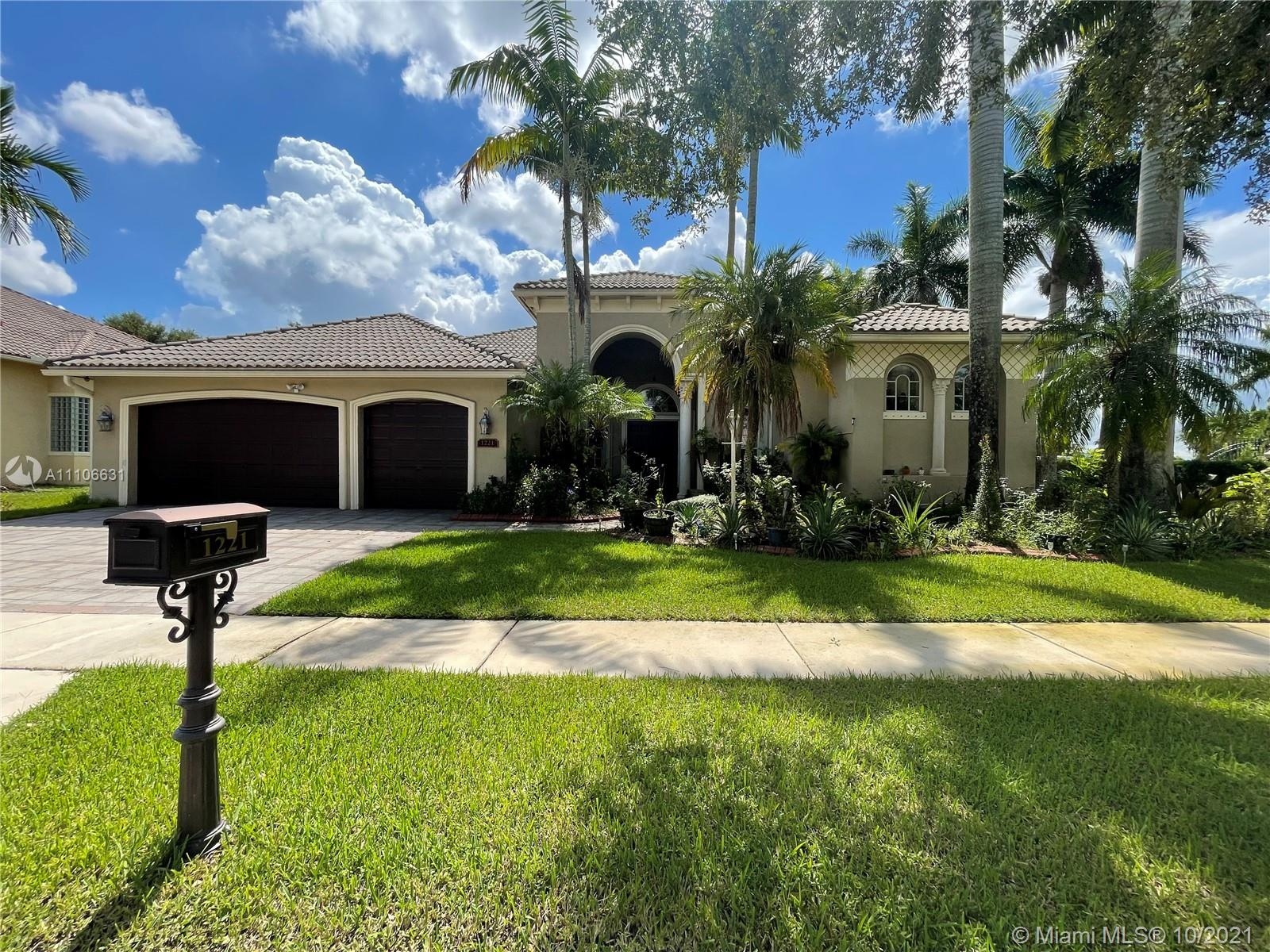 1221 NW 137th Ave  For Sale A11106631, FL