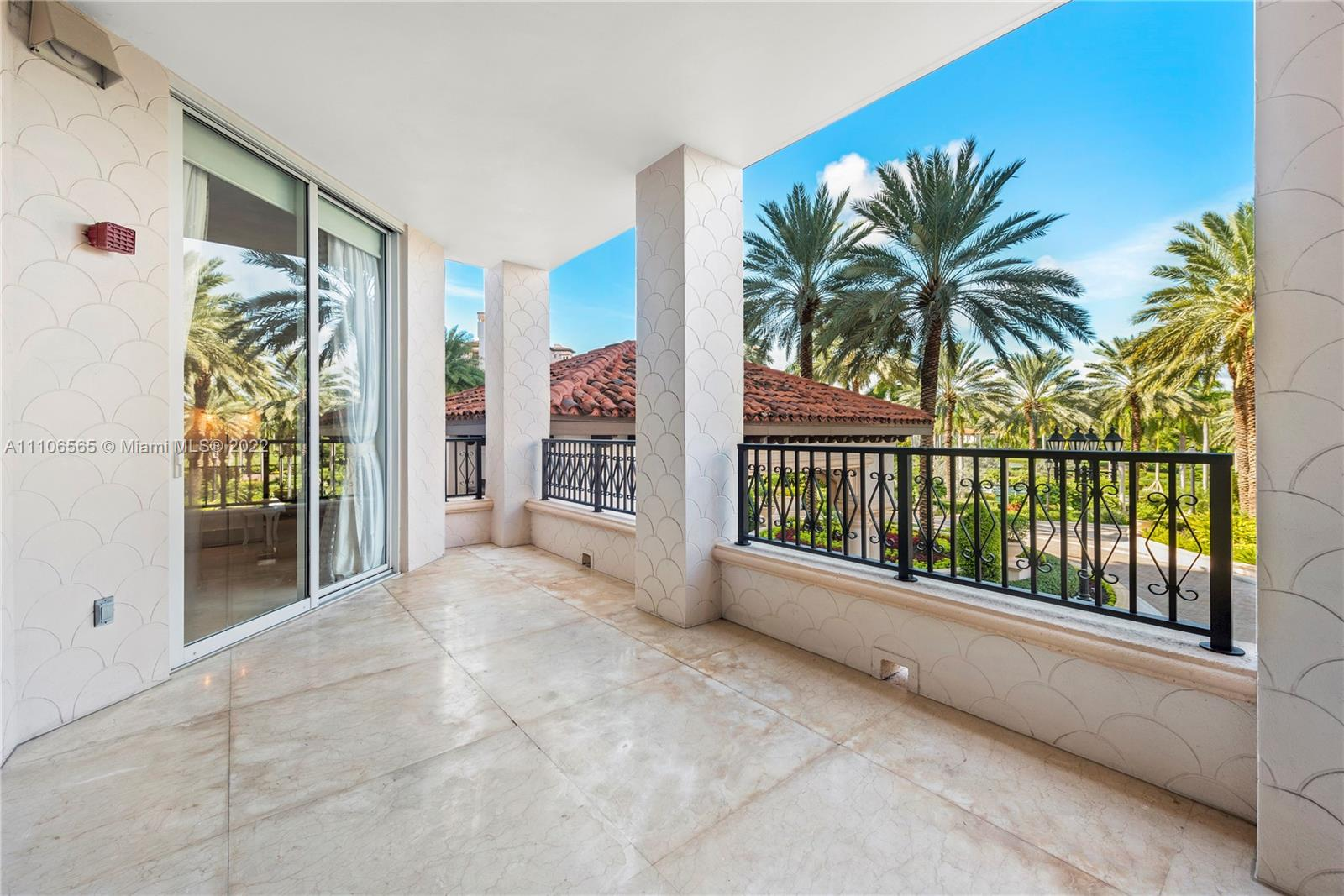Elegant Roberto Cavalli custom home interiors and Baccarat light fixtures make this 3BR/3+1BA Pallazo Del Mare 3500 SF residence your dream home. Oversized terraces grace the magnificent waterfront unit to enjoy the Atlantic Ocean, South Point, and Golf Course views. A voluminous layout made ideally for entertaining combined with excellent craftsmanship, meticulous attention to detail, and pleasing to the eye, iconic patterns and materials in the soft and elegant tone is a haven for relaxation. Marble floors adorn the unit w/spacious open living & dining rooms, plus a private study/media room. Open chef's kitchen w/top-of-the-line appliances. Gorgeous built-ins throughout the entire unit, no details spared. Become a part of Fisher Island Club exclusive lifestyle and so much more.