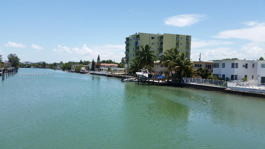 Beautiful, spacious and bright 1 bedroom & 1.5 bathroom. Remodeled kitchen, tile floors throughout, lots of natural light.  Come enjoy the beautiful canal and city views.  Walking distance to the beach, local & Bal Harbor shops and  restaurants. **UNIT IS PERFECT FOR AN INVESTOR EASY TO SHOW. CASH BUYERS ONLY**