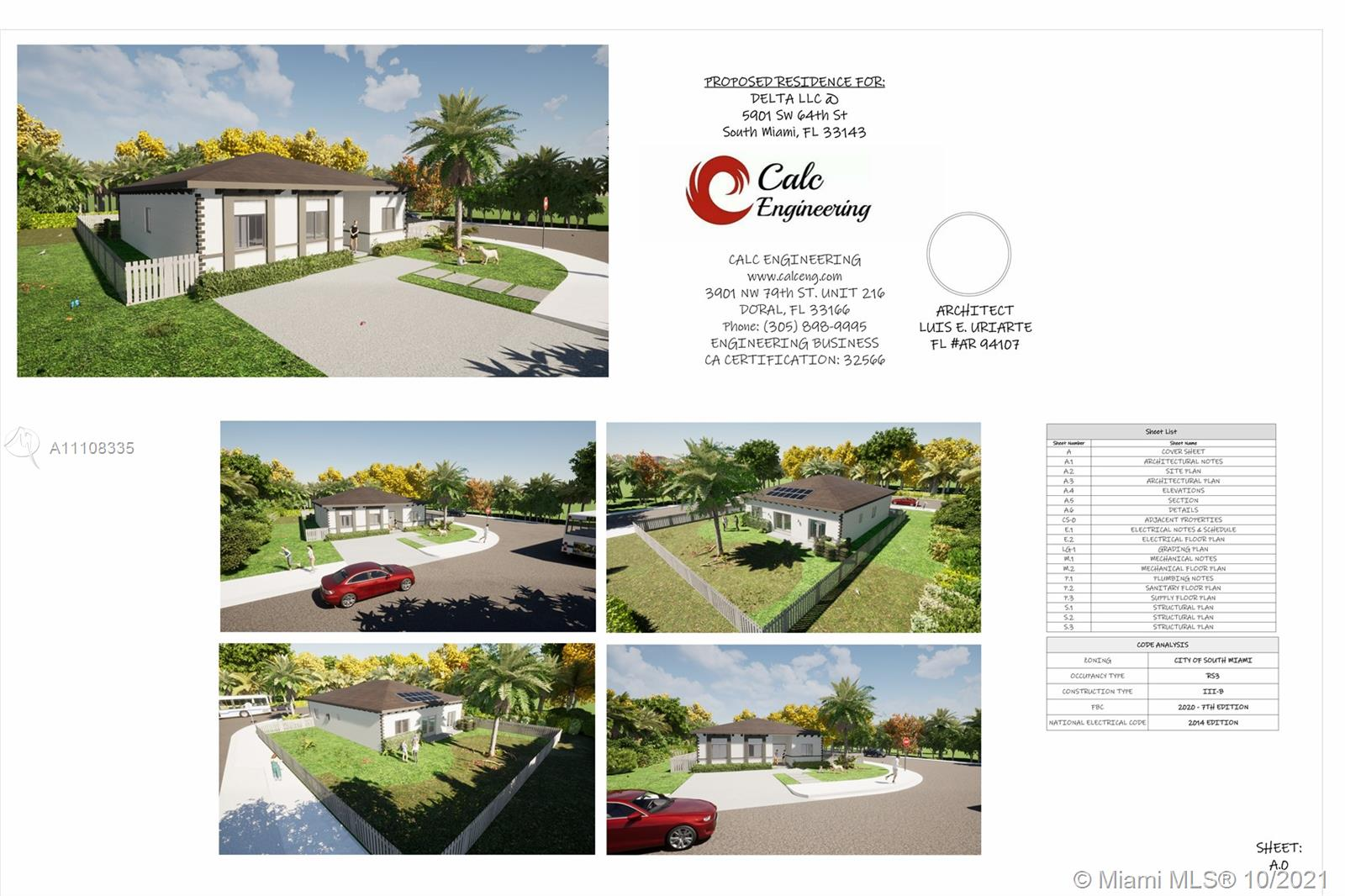 5901 SW 64th St  For Sale A11108335, FL