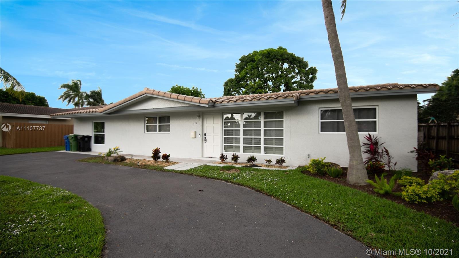 1721 NE 59th Ct  For Sale A11107787, FL