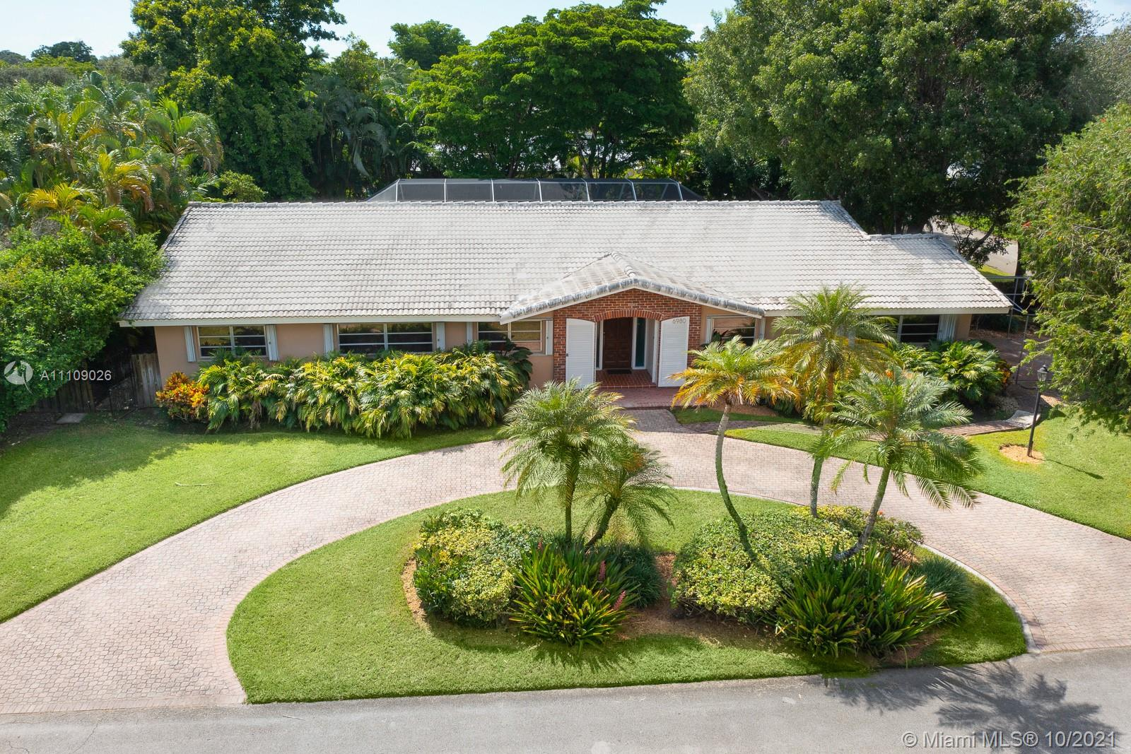 6980 SW 128th St  For Sale A11109026, FL