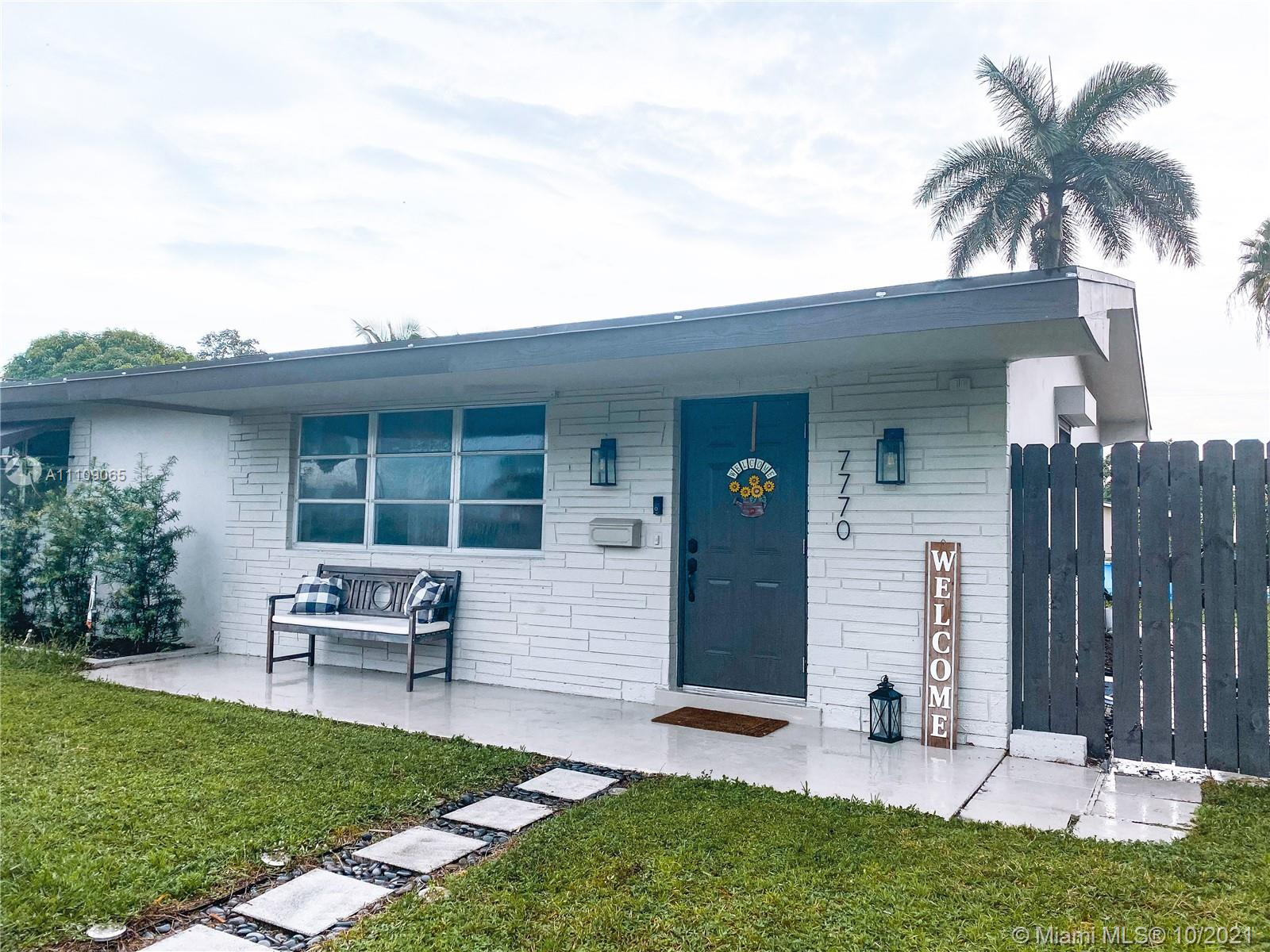 7770 NW 14th Street  For Sale A11109065, FL