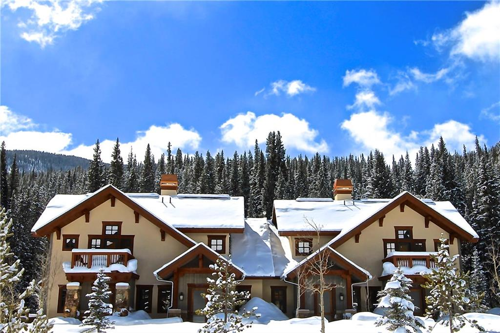 Union Creek TH's are located just outside the Center Village. You can ski in, hike or bike out from the back door.