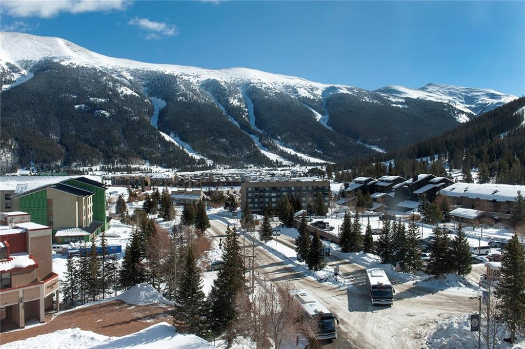 This is the VIEW from Unit 731!  You will love the VIEWS of Copper's ski slopes, SKY Chutes  & the Ten Mile Range!