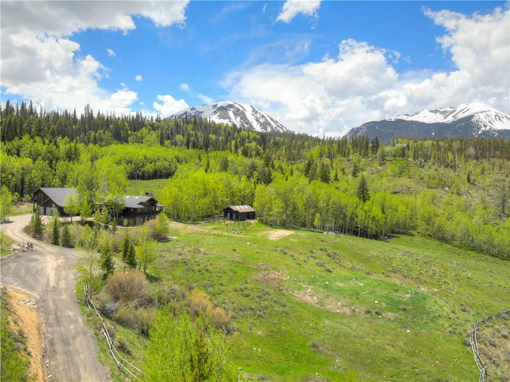 9.8 acres with direct access to the national forest, Eagles Net Wildernest and the Gore Range Trail