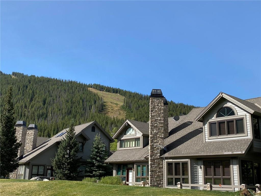 #36 Woods townhouse is on the right side of the photo with Copper Mountain's ski slopes in the background!