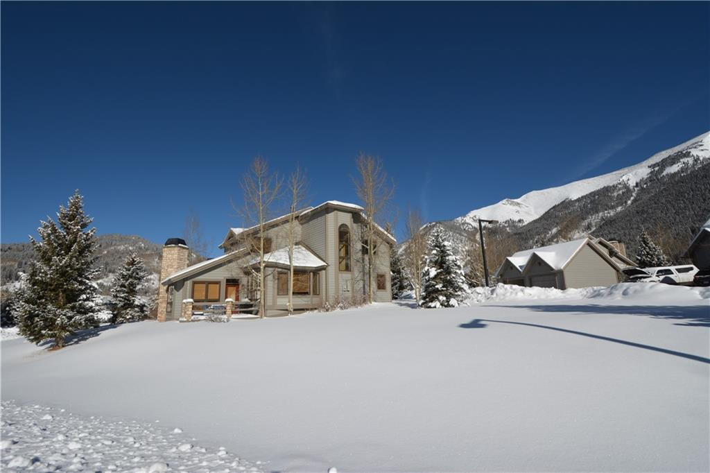 Perfect SW exposure w all day sun & ski area views from this Legends at Copper Creek townhome!  Beautifully decorated for the mountain environment. Numerous upgrades! Large 2,370 sq ft floor plan incl: huge living room w fireplace & wraparound views, dining room w bay window, all new kitchen, huge open deck adjacent to open space, 4 bdrms, 3 baths, laundry & attached garage!  Furnished to enjoy! Located in Copper Mountain's East Village, this end unit will never have a neighbor on the southside.