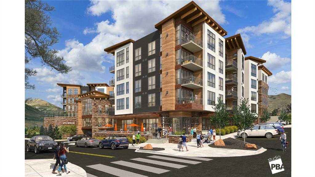 Uptown 240 a new condominium development in downtown Dillon. This location provides a mountain and lakestyle living atmosphere enhanced by a contemporary design & stunning views. A convenient location less than 5 minutes from I-70.