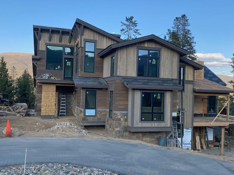 Home recently completed in Frisco by this builder.  This beautiful home shows the quality and design that will be represented in the new construction at 400 Two Cabins.