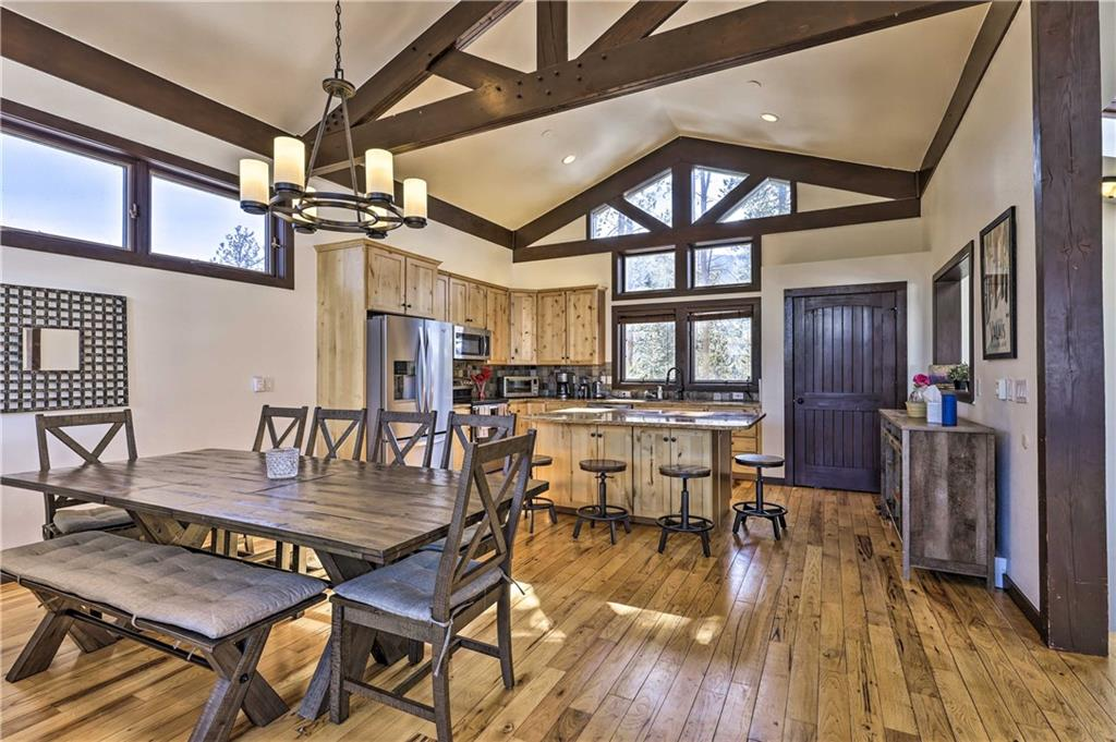 Great room, dining area,kitchen