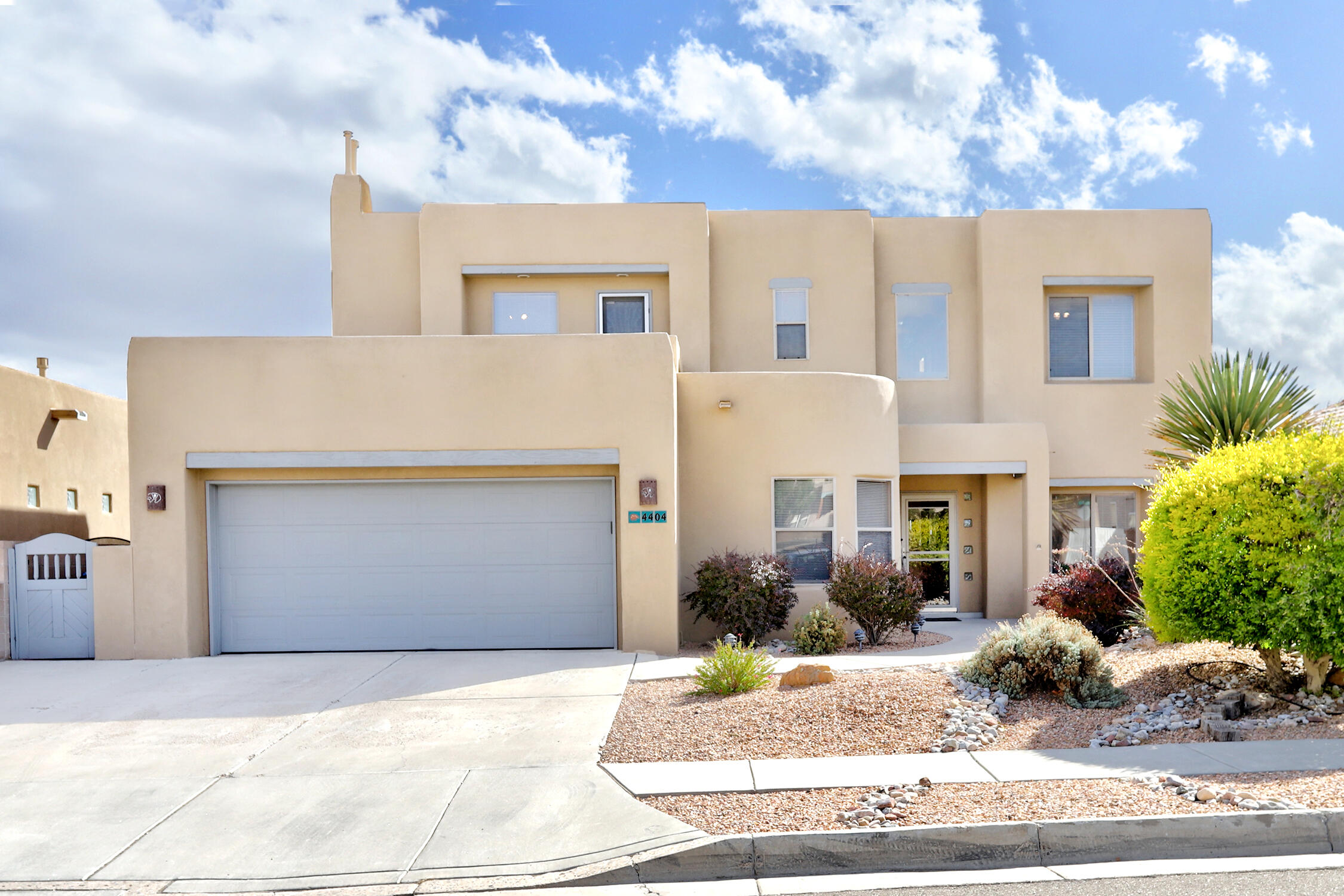 Beautiful custom built home with numerous upgrades. Just a few: Clerestory windows with power shades, Bose sound system speakers inside and out, new furnace, new TPO roof, central vac, Your own OWNED solar system(!) an extra long covered patio with tile floors, BBQ with attached natural gas line and 2 roll down Sunshades. The refrigerated air unit is only one year old.