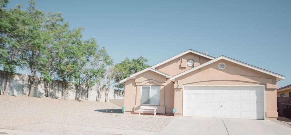 Incredibly maintained Artistic Home owned by one owner. 3 bedrooms, 2 bathrooms one bedroom has a secret closet, latch is on the top shelf.  Home has a convenient layout and a finished 2 car garage with extra storage on a beautifully xeriscape front and back oversized lot located at the end of the road.
