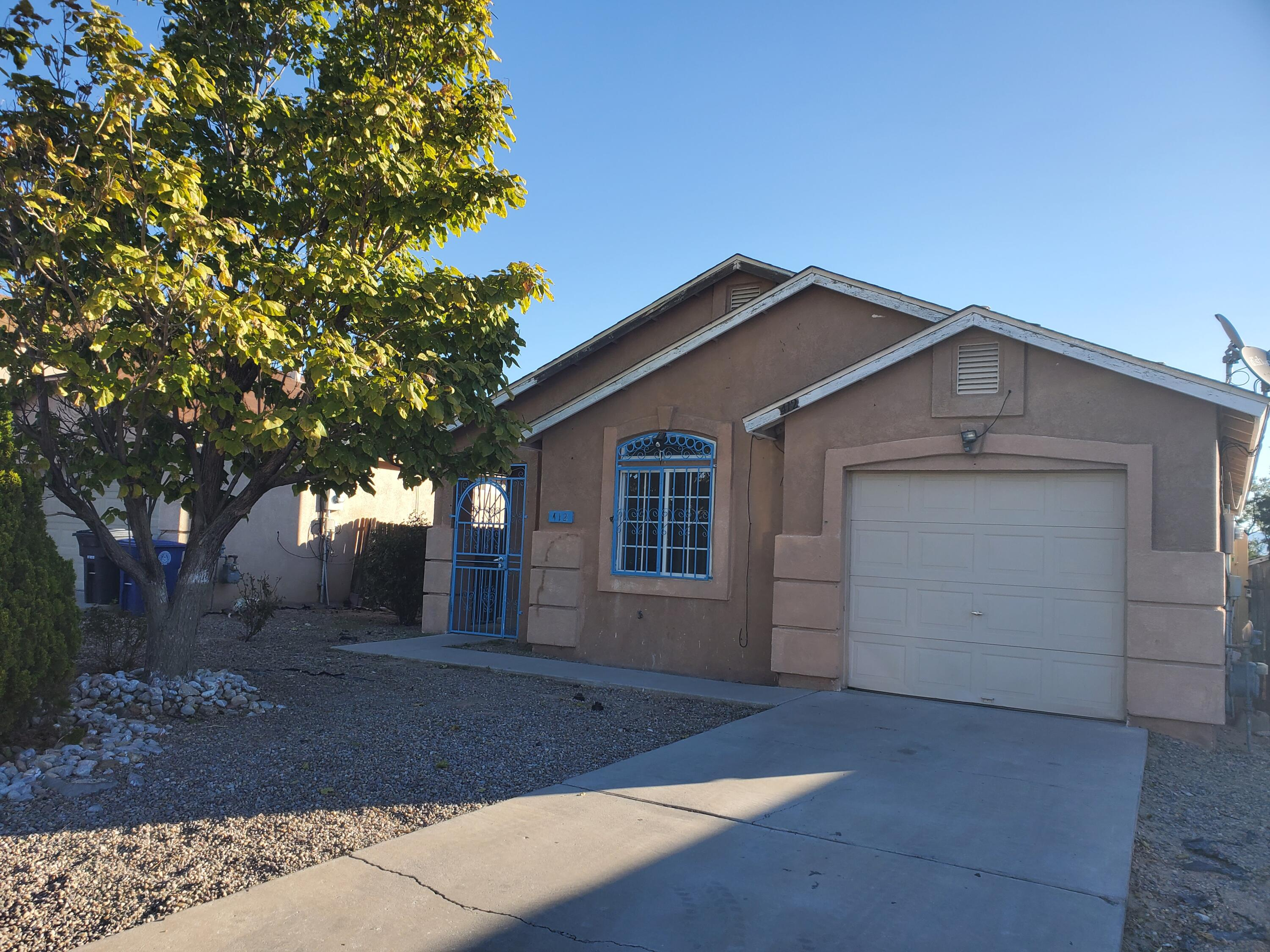 Super cute 3 bedroom 2 bath home with vaulted ceilings. Gas fireplace for those cool winter days. Backyard has plenty of room to create your perfect oasis--a doggie door for your small pets. Schedule your showing today.